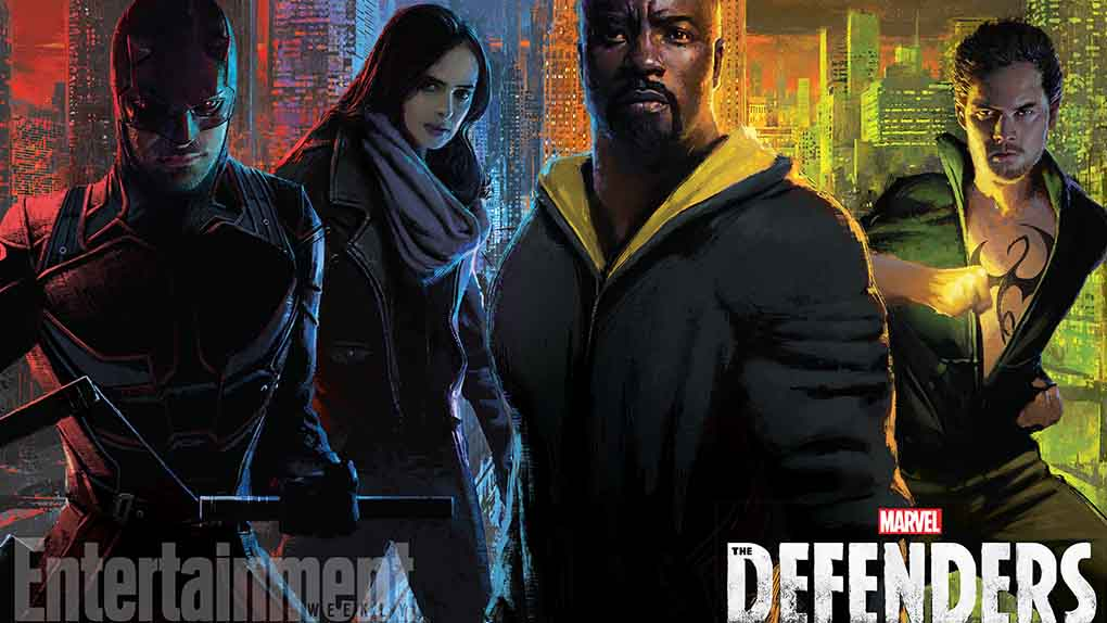 "L'affiche Comic-Con 2017 de ""Marvel's The Defenders"""