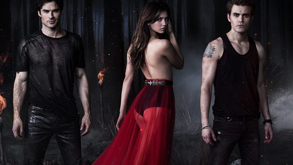 """Vampire Diaries"", le vampire sexy"