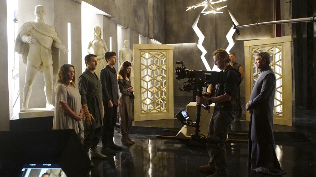 Sur le tournage de Marvel's Inhumans