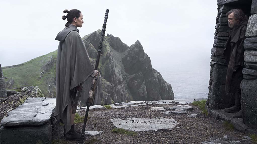 """Star Wars: Les Derniers Jedi"" avec Daisy Ridley, John Boyega, Oscar Isaac ..."