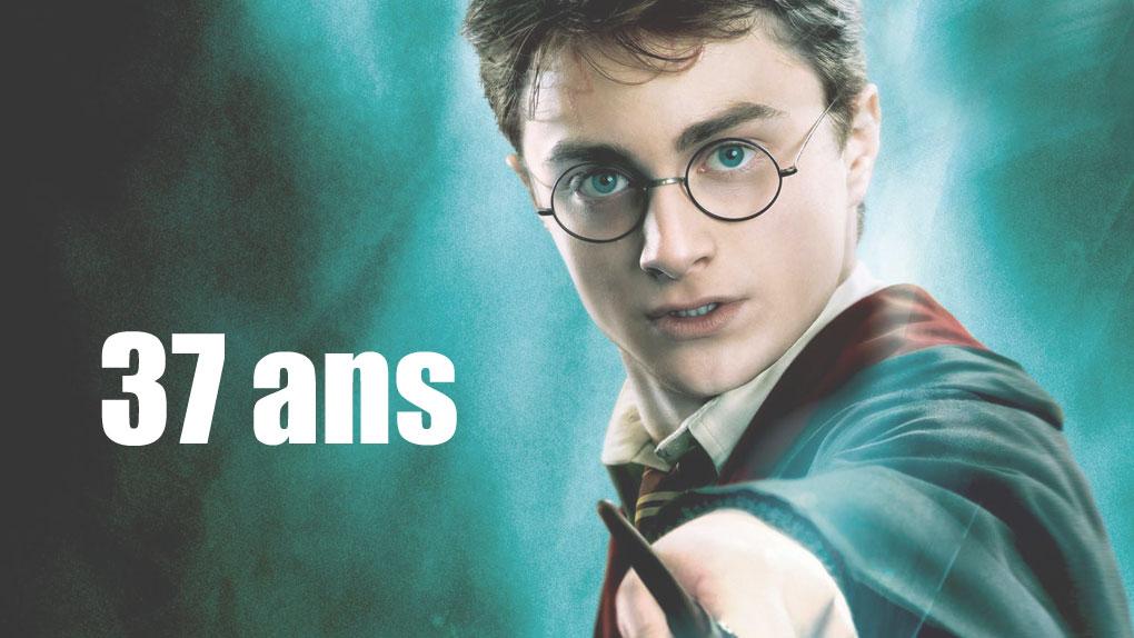 Harry Potter (37 ans)