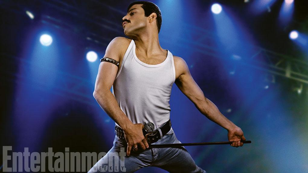 Première image de Rami Malek en Freddie Mercury — Bohemian Rhapsody