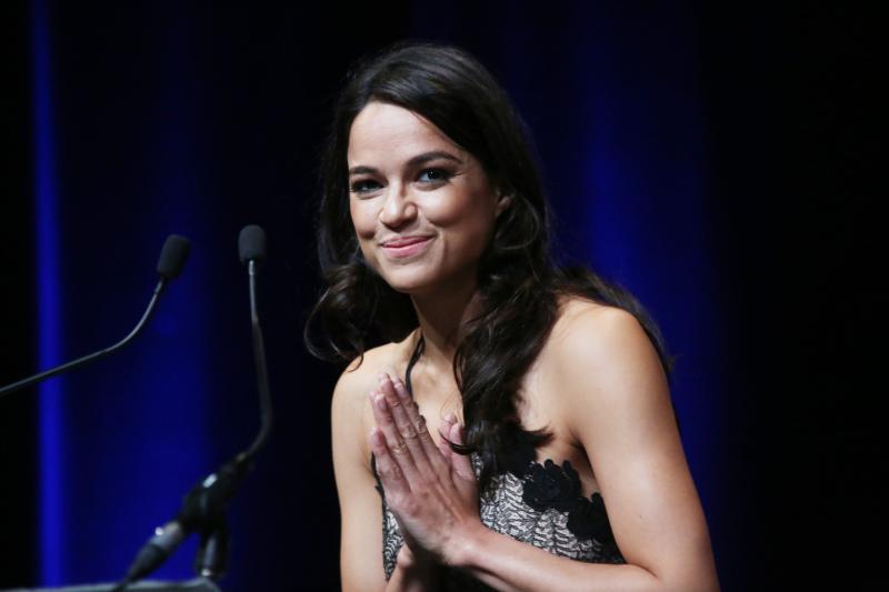 Michelle Rodriguez reconnaissante
