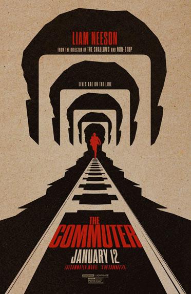 """The Commuter"" avec Liam Neeson, Vera Farmiga, Patrick Wilson ..."