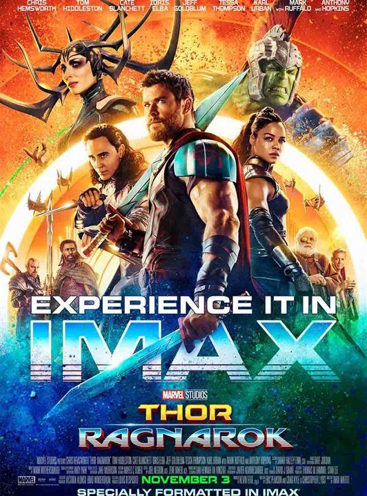 "Une affiche IMAX de ""Thor : Ragnarok"""