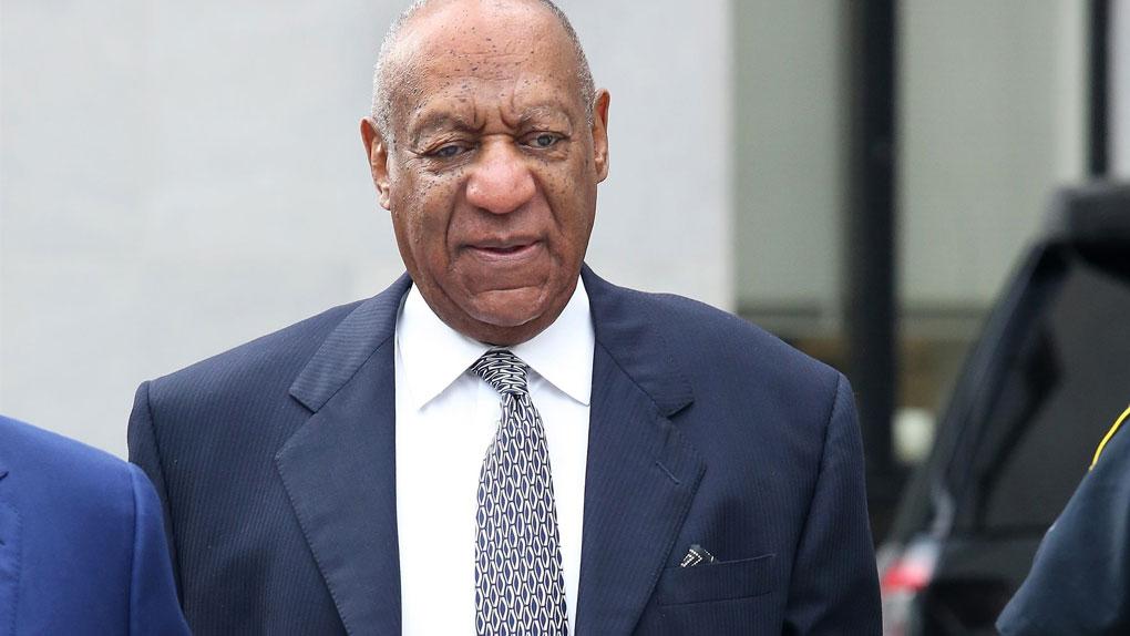 Bill Cosby, à la sortie du tribunal (2017)