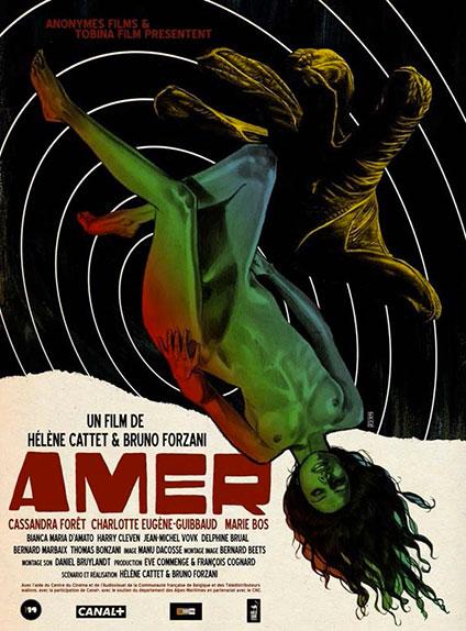 Amer (2009) : le duo se distingue également par les magnifiques affiches de ses films.