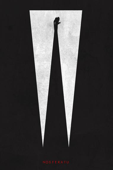Nosferatu - Affiche réalisée par Trevor Dunt