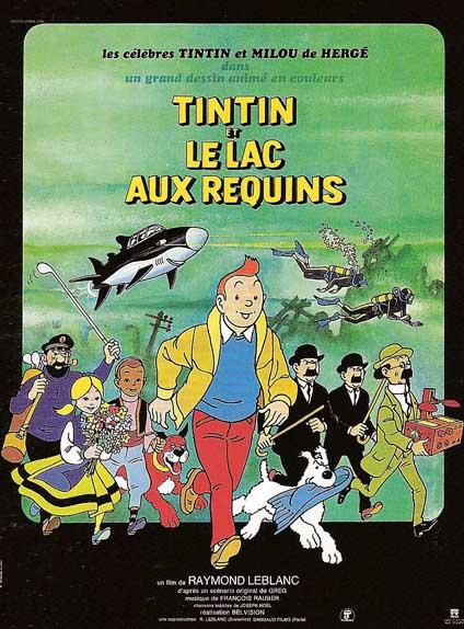 1972 - Tintin et le lac aux requins
