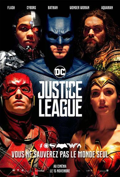 N°1 - Justice League : 418 969 entrées