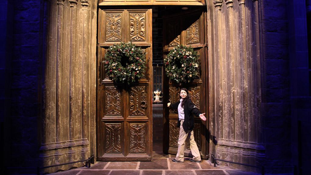 Dans les coulisses des films Harry Potter...