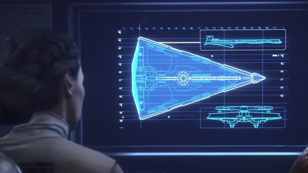 Les plans du Dreadnought