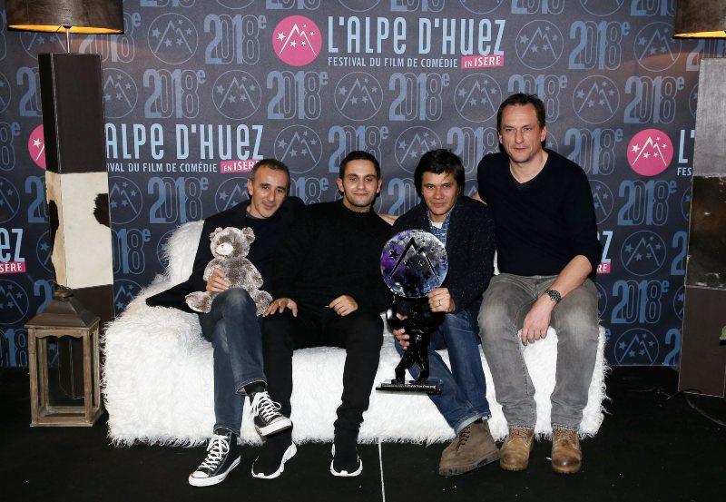 L'équipe du Doudou, prix du jury de l'Alpe d'Huez 2018
