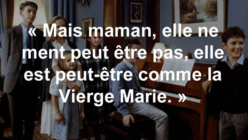 """""""Elle est peut être comme la Vierge Marie..."""" (Pierre Le Quesnoy à sa mère)"""