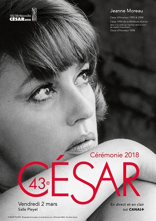 La 43e cérémonie des César sera dédiée à Jeanne Moreau