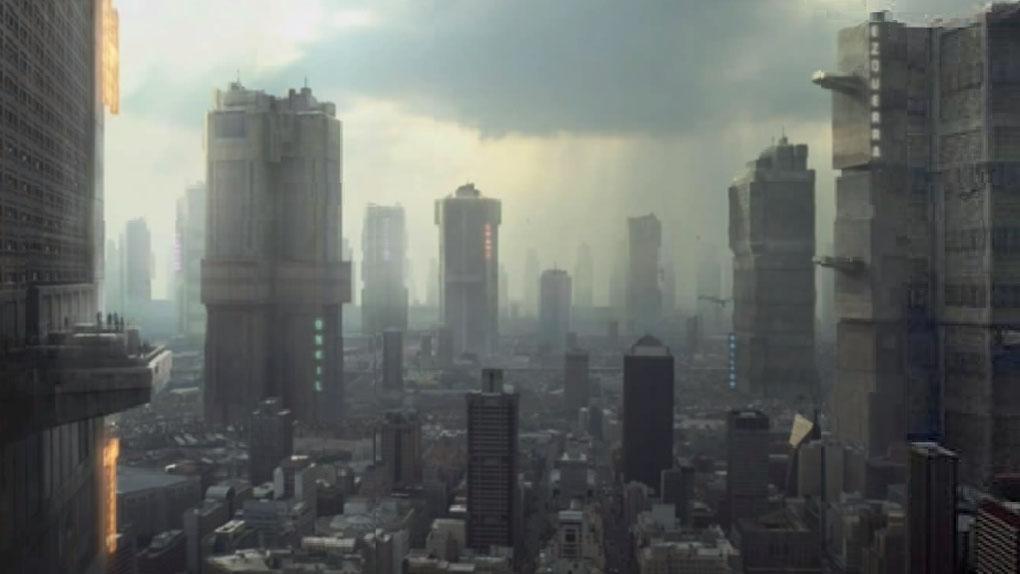 """Mega City One dans """"Dredd"""" (2012)"""