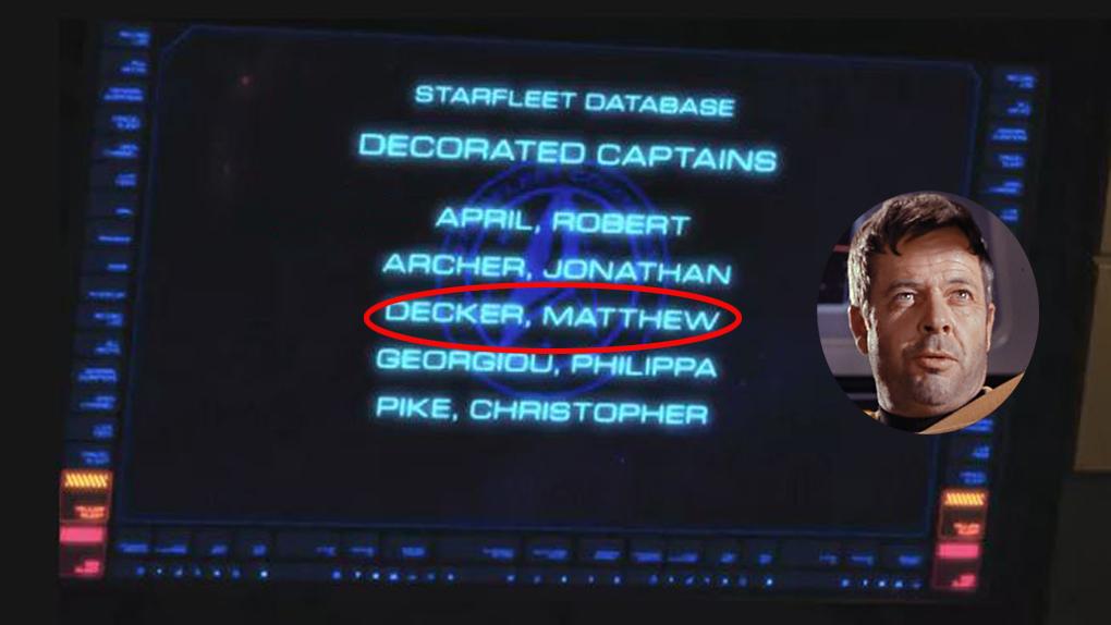 Capitaine Matthew Decker