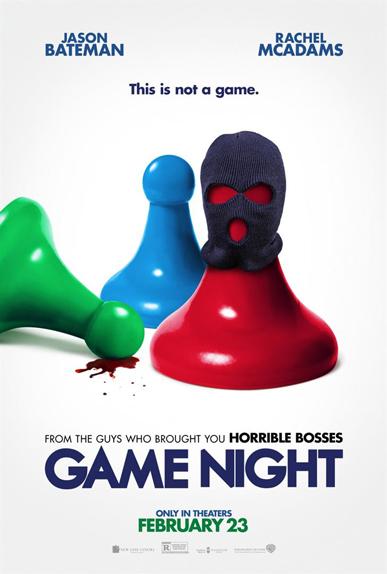 N°2 - Game Night : 16,6 millions de dollars de recettes