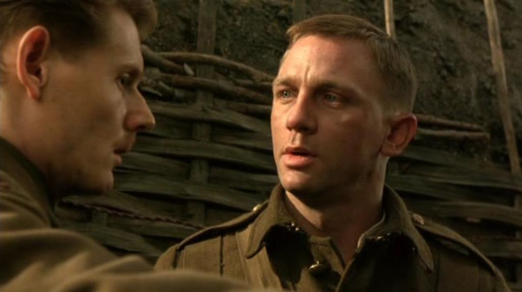 Daniel Craig en mode... soldat anglais : La Tranchée (2000)