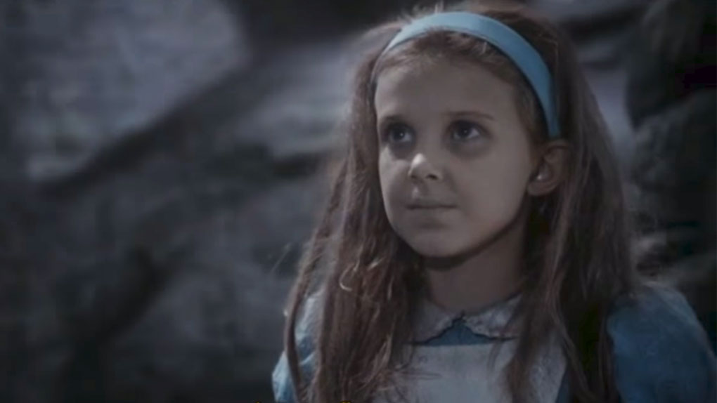 Millie Bobby Brown, alias Eleven