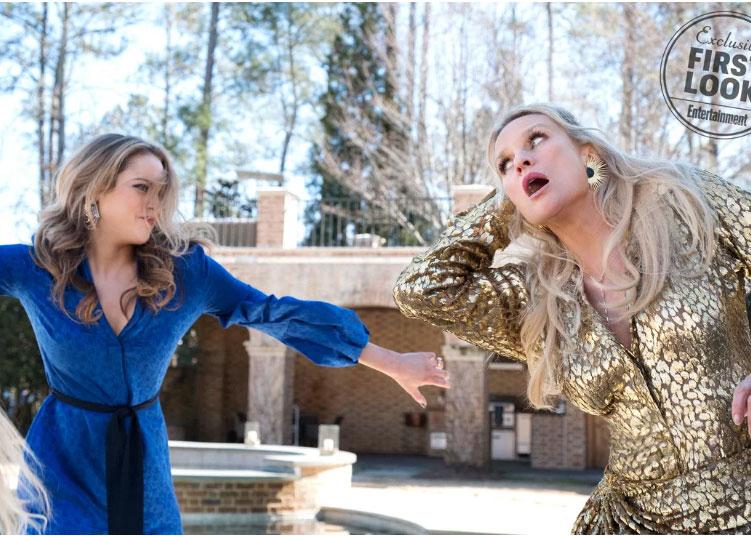 Alexis Carrington vs sa fille Fallon