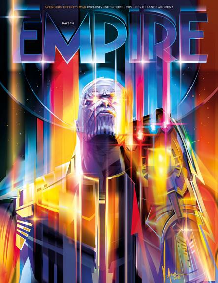 Thanos illumine la couverture réservée aux abonnés