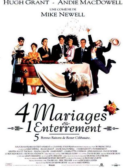 Quatre mariages et un enterrement bientôt en série ?