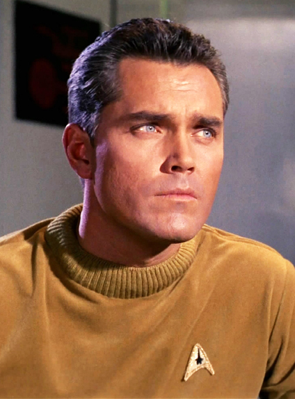 Le capitaine Christopher Pike