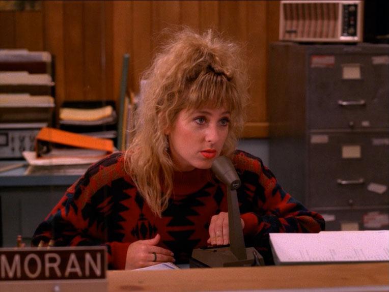 La plus (haut) perchée : Kimmy Robertson dans Twin Peaks