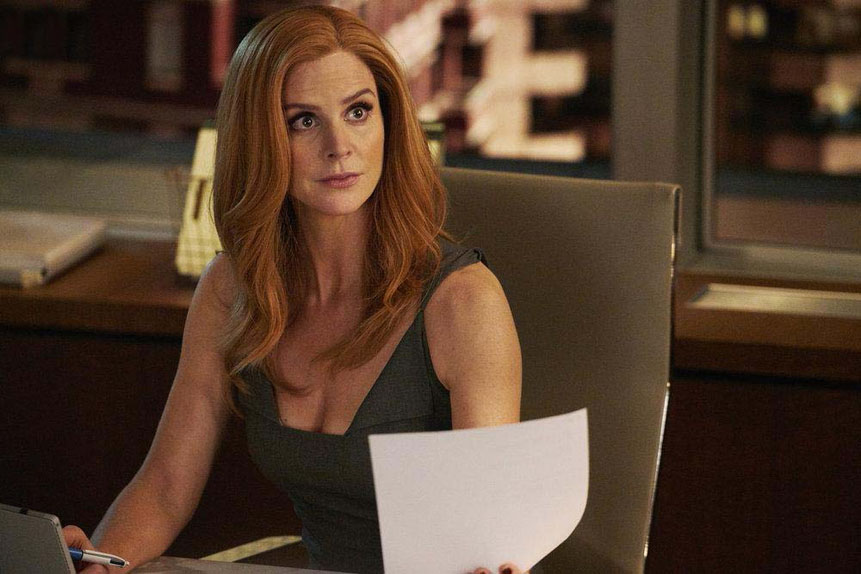 La plus indispensable : Sarah Rafferty dans Suits