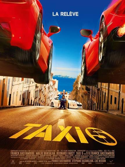 N°1 - Taxi 5 : 1 524 218 entrées