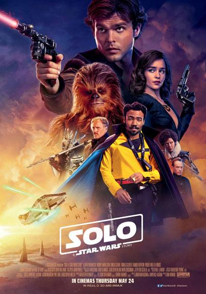 """Le nouveau poster international de """"Solo"""""""