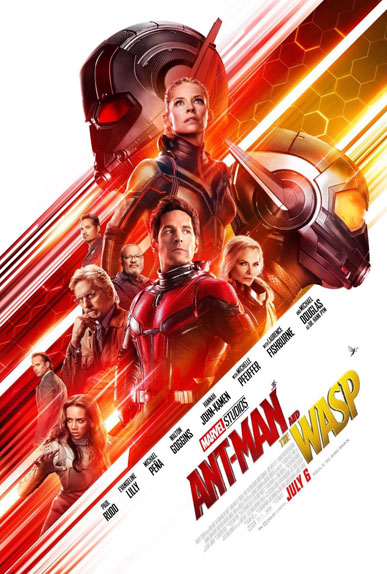 Ant-Man et la guêpe de Peyton Reed avec Paul Rudd, Evangeline Lilly, Michael Douglas...