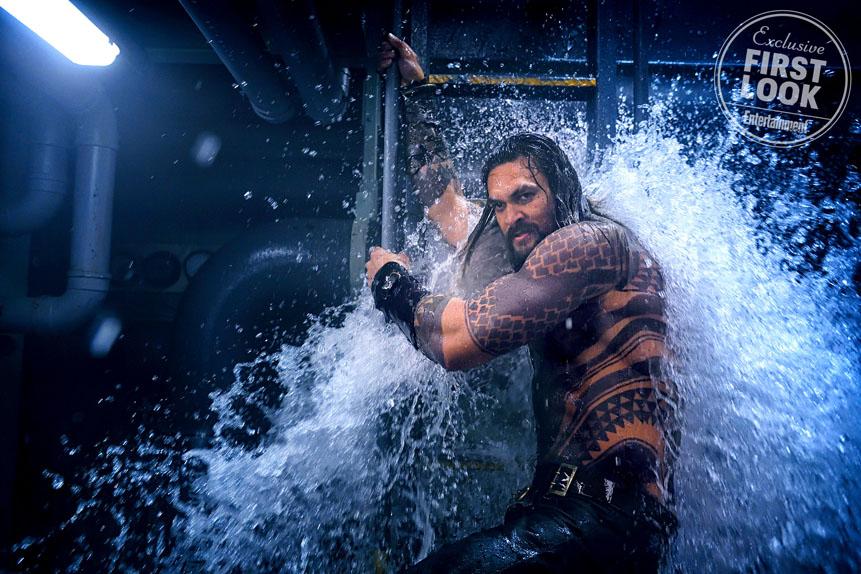 Les premières photos exclusives se dévoilent — Aquaman