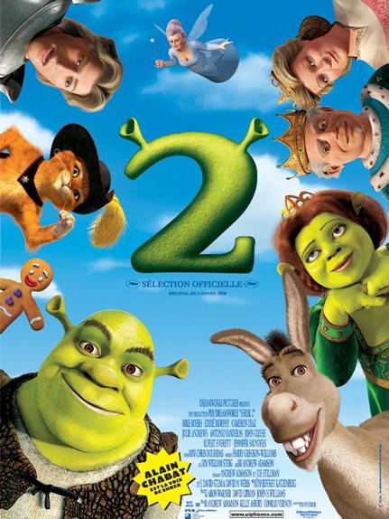N°6 - Shrek 2 : 108 millions de dollars de recettes