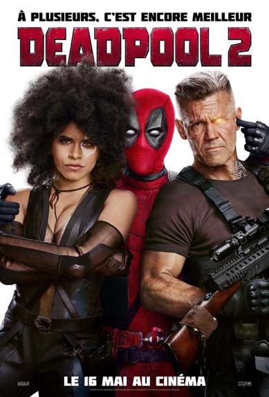 N°5 - Deadpool 2 : 75 452 entrées