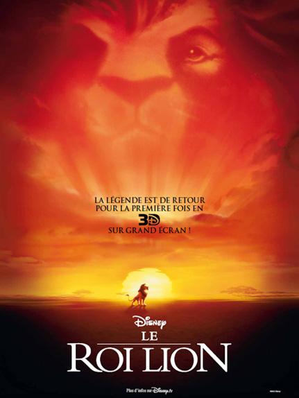 N°7 - Le Roi Lion : 10 731 613 entrées