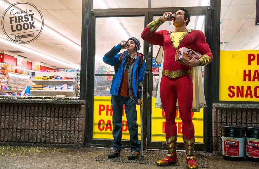 On se calme et on boit frais avec Shazam