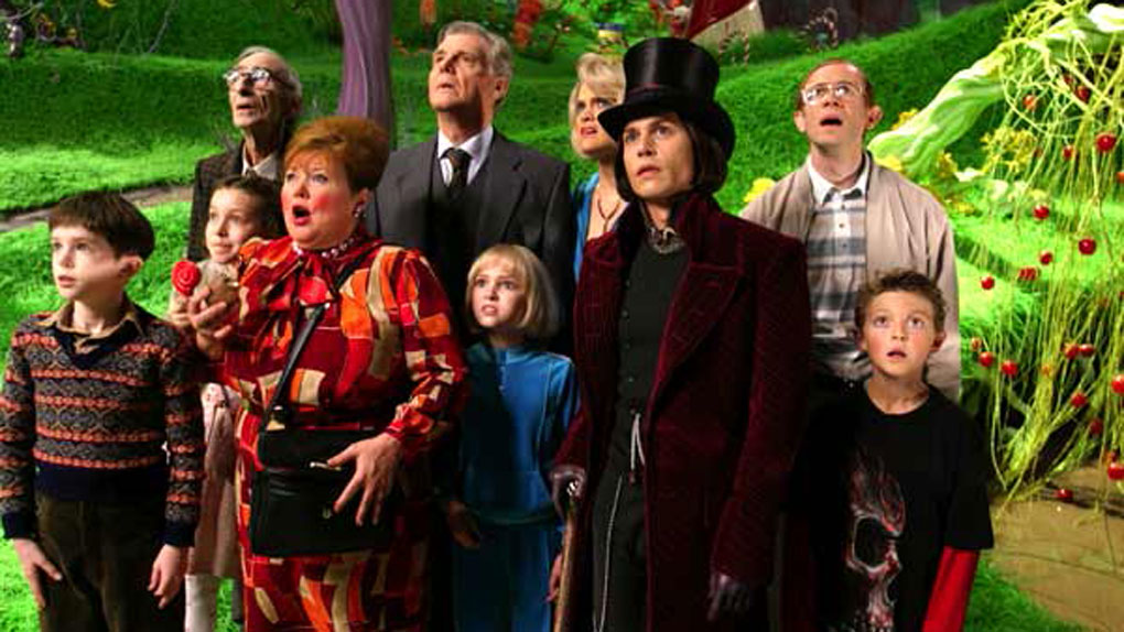 2005 - Charlie et la chocolaterie : 4 351 932 entrées