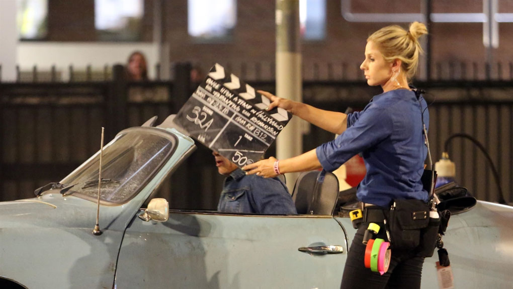 Clap ! Sur le tournage de Once Upon A Time In Hollywood