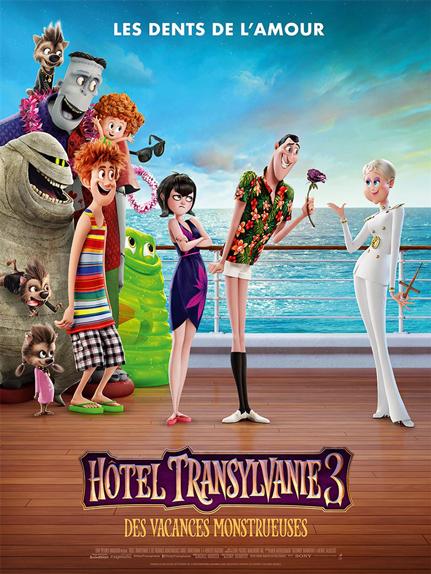N°4 - Hôtel Transylvanie 3 Des Vacances monstrueuses : 12,3 millions de dollars de recettes