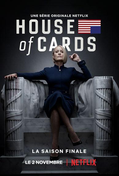 La saison 6 d'House of Cards sera dévoilée le 2 novembre