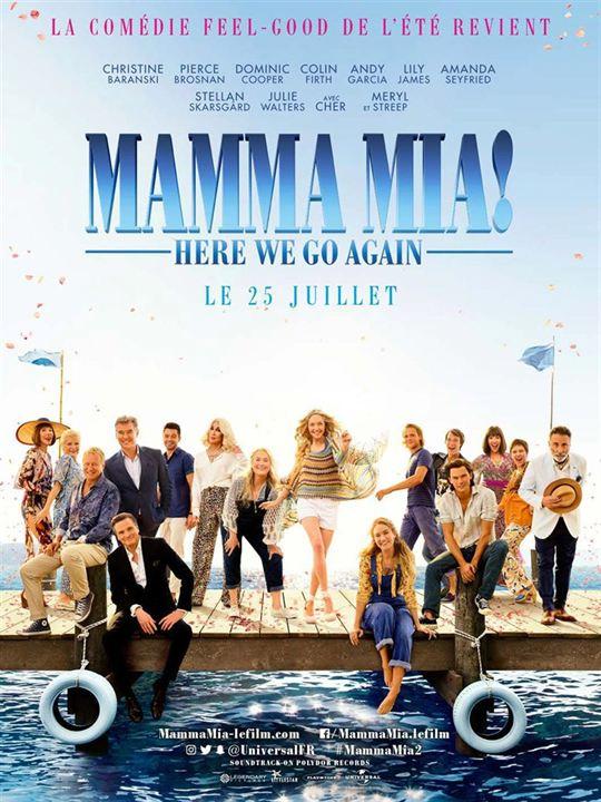 5 - Mamma Mia! Here We Go Again : 183 148 entrées