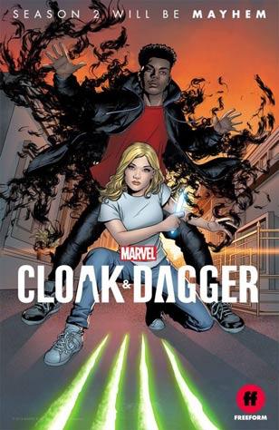 CLOAK & DAGGER - Renouvelée