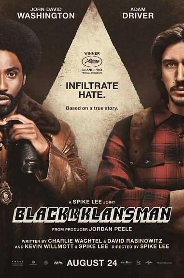N°3 - BlacKkKlansman - J'ai infiltré le Ku Klux Klan : 181 886 entrées