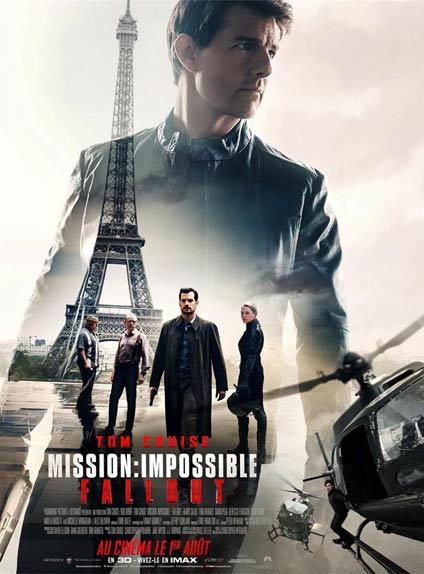 N°5 - Mission Impossible -  Fallout : 88 972 entrées