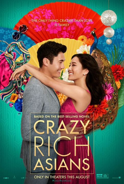 5 - Crazy Rich Asians : 8,7 millions $ de recettes