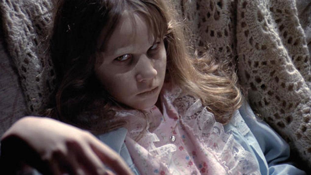"Linda Blair dans ""L'Exorciste"""