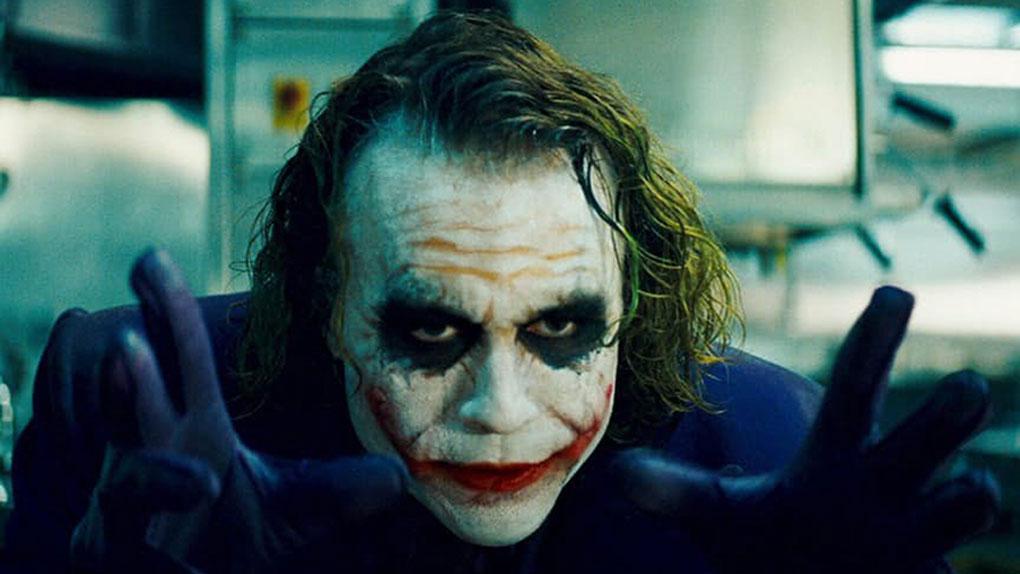"Heath Ledger dans ""The Dark Knight"""