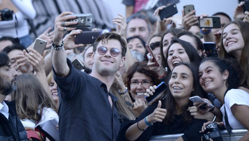 Chris Hemsworth, star de la cérémonie de cloture